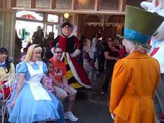 Find Favorite Characters at Disneyland