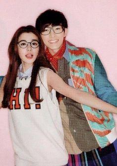 Fall in love with me <3 Tia li & Aaron yan