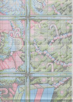 Схема вышивки Candy Cane Santa (Dimensions) 4 из 4