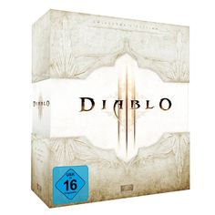 Blizzard Apologizes for 'Diablo III' Bugs, Delays Real-Money Auction House Edition Collector, The Collector, Blizzard Diablo, Mac Software, Software Products, White Box, Make Your Mark, Box Design, Candle Sconces