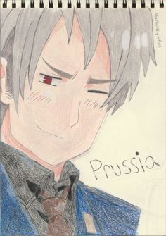 Hetalia ~ Awesome Prussia (Colored) by StarfallVulpixGirl on DeviantArt