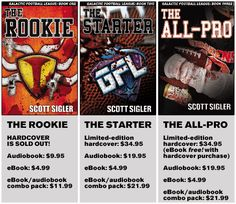The Galactic Football League Series by New York Times best-selling author Scott Sigler