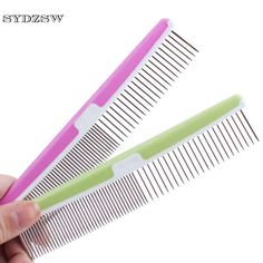 >> Click to Buy << SYDZSW New Pet Grooming Products Dog Supplies Pet Stroe Color Plastic Dog Comb Pet Hair Care Tools for Cats Puppy Dogs 17*3.5cm #Affiliate