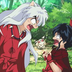 Inuyasha Fan Art, Kagome And Inuyasha, Inuyasha Funny, Disney Fantasy, Anime Fantasy, Chica Gato Neko Anime, Nerd Love, Fanfiction, Drawing Base