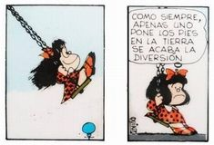Tu lo has dicho mafi Funny Picture Quotes, Funny Pictures, Mafalda Quotes, Spanish Humor, Inspirational Phrases, Clever Quotes, Life Philosophy, France, Kids Education