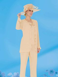 Custom Made 2015 Elegant Mother Of The Bride Suit Jewel Long Sleeve Beaded Applique Chiffon Plus Size Mathar Son Mother Of The Groom Suit From Rieshaneeawedding, $107.86| Dhgate.Com
