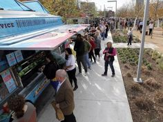 Klyde Warren Park food truck fest tops best food events in Dallas