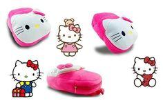 Plush Cartoon Bags Kids Backpack School Bags Animal Hello Kitty