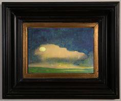 Original abstract landscape painting  abstract by VESNAsART