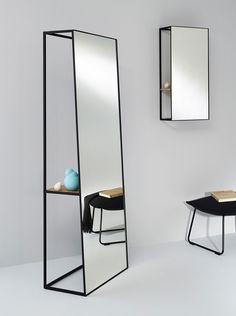 miroirs de châssis au fait du design