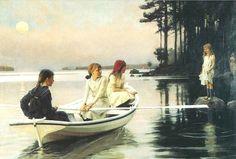 Blog of an Art Admirer: Albert Edelfelt (1854-1905) Finnish Painter