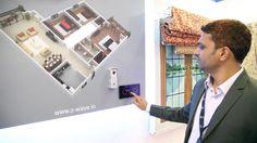 Hogar Controls Smart Home | Z Wave India automation | IFSEC Trade Show Demo