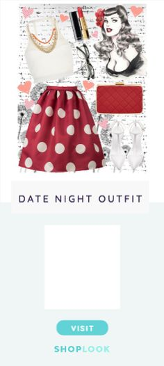 n°90 - Pin it up! created by deborah-destiny on ShopLook.io perfect for Date Night. Visit us to shop this look.