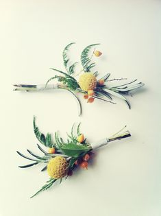 billy balls, boutonnieres and belly bumps {via @Justina Siedschlag Blakeney}