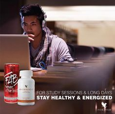 """FAB Forever Active Boost™ Energy Drink. FAB is a quick, refreshing way to stay energized and alert all day long. FAB's """"boost"""" is different from other energy drinks because it gives you both immediate and long-term energy. The immediate boost comes from guarana, while the long-term energy is powered by ADX7 technology."""