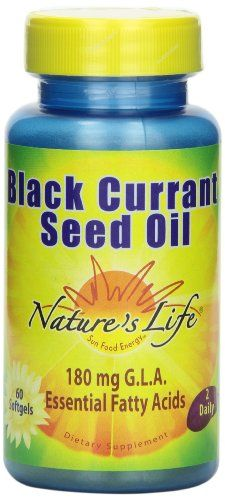 Find best price for Nature's Life Black Currant Seed Oil , 1200 Mg, 180 mg GLA, 60 Softgels Black Currant Oil, Bakers Yeast, Healthy Kidneys, Black Currants, Pureed Food Recipes, Nutritional Supplements, Seed Oil, Healthy Choices, Herbalism