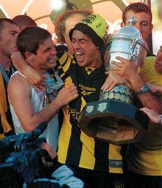 Tony Pacheco y Pablo Javier Bengoechea - Peñarol Campeón Uruguayo 1999.