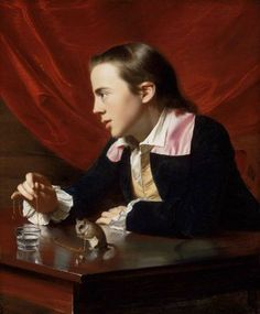 A Boy with a Flying Squirrel (Henry Pelham), 1765, John Singleton Copley, American, 1738–1815, Museum of Fine Arts Boston 1765 John Singleton Copley, American, 1738–1815