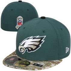 New Era Philadelphia Eagles Youth Salute to Service 59FIFTY Fitted Hat #eagles #philadelphia #nfl