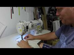 Got a new Juki walking foot sewing machine to do car upholstery - YouTube