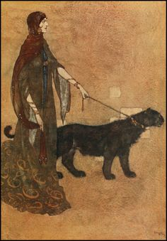 Edmund Dulac, Arabian Night