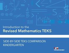 Revised Mathematics TEKS: Side-by-Side TEKS Comparison | Project Share