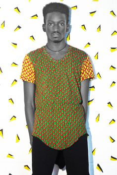 Image of Long Fit Weave Tee