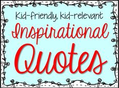 28 simple, black & white, large text posters with inspirational quotes that promote the values of friendship, determination, kindness, education, and self-worth. Write On, Fourth Grade!