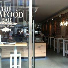 The Seafood Bar Amsterdam Food/Drinks: €€ Love: ♥️♥️ Visit Seafood bar @van Baerlestraat. Don't go to the Seafoodbar @spui