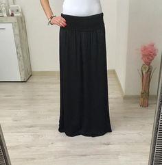 Maxi sukňa čierna