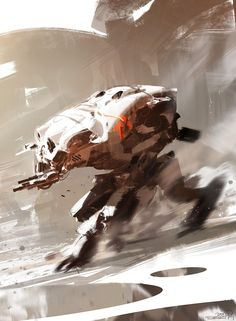 Concept Art - Sparth.  It's like a large, fast battle robot.  Imagine going against this in a FPS!
