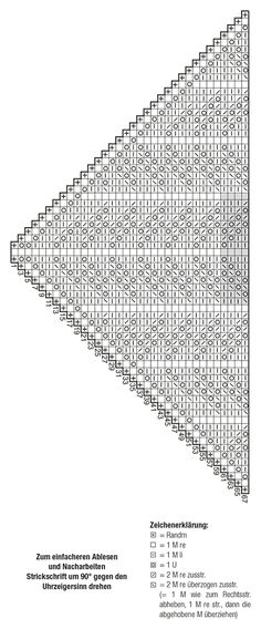 New Totally Free Crochet poncho bebe Suggestions Dreieckstuch – Großmuttermuster – Dreieckiger Schal – Groß Knitting Blogs, Knitting Socks, Free Knitting, Knitting Projects, Knitting Patterns, Knit Socks, Knitting Machine, Knitting Tutorials, Crochet Poncho