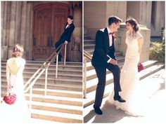 A Beautiful Black, White & Red Wedding - Bridal Musings Wedding Blog