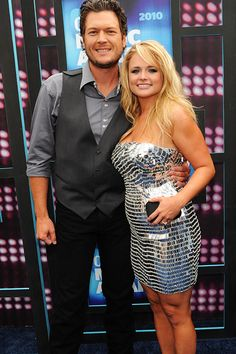country stars Miranda Lambert and Blake Shelton Country Music News, Country Music Artists, Country Music Stars, Country Singers, Miranda Lambert Wedding, Blake Shelton Miranda Lambert, Miranda Blake, The First Wives Club, Country Couples