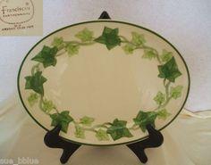 Vintage U.S.A. Franciscan Ivy Dinnerware Platter & Franciscan Green Ivy Dinner Plates | eBay |