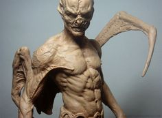 Marcus Corvinus - Page 4 - Statue Forum Creature 3d, Creature Concept, Creature Feature, Creature Design, Gothic Fantasy Art, Dark Fantasy, Zbrush, Aliens, Character Art