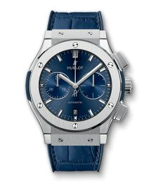 Shop rare and authentic timepieces from Rolex, Patek Philippe, Hublot, Audemars Piguet and more on World's Best. Patek Philippe, Audemars Piguet, Hublot Classic Fusion Blue, Cool Watches, Watches For Men, Casual Watches, Titanium Blue, Hublot Watches, Men's Watches