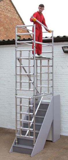 StairDeck Stair Scaffold Tower Hire