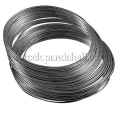 10Rolls Tiger Tail Wire Spool Stainless Wires Silver LightGrey Jewelry Beadwork