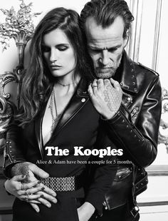 Adam & Alice for The Kooples FW13 #thekooples #campaign