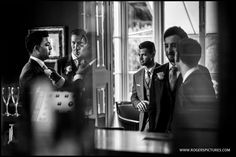 Reflections spotted in a mirror in the bar at St Michael's Manor, St Albans -