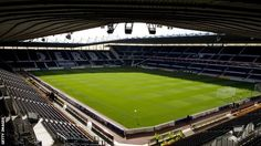"""Derby County are introducing """"demand-based"""" ticketing for the coming season with prices fluctuating according to the opposition, the team's form, kick-off times and even the weather. Football Stadiums, Football Soccer, Basketball, Civil Engineering Projects, Pride Park, Bristol Rovers, Price Tickets, Derby County"""