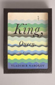 King, Queen, Knave by Vladimir Nabokov, Designer: Peter Mendelsund, Art Director: John Gall