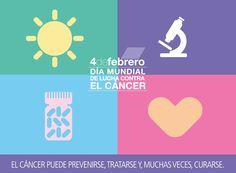 Hoy se celebra el #DíaMundialContraElCáncer  #WorldCancerDay #salud #health