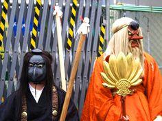 Two Tengu side with the humans against Setsubun Devils