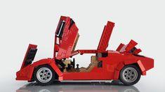 Lamborghini, Lego Wheels, Metals Die Cast, Cool Lego Creations, Lego Instructions, Legos, Diecast, Super Cars, Geek