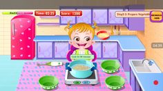 Baby Games Hazel In Kitchen_GamePlay Android