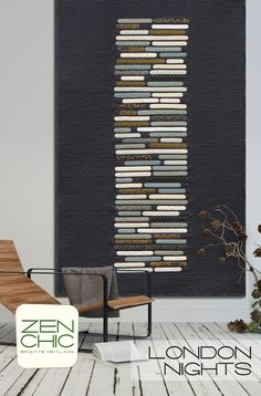 Farbstoff: Modern Background Luster fabric collection by Zen Chic has hit stores!