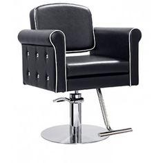 Daisy Black Salons Decor, Barber Chair, Daisy, Furniture, Black, Home Decor, Decoration Home, Black People, Room Decor