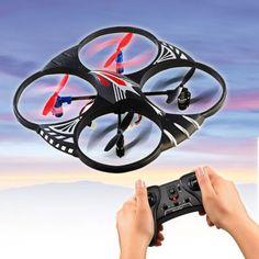 Quadrocopter - ferngesteuert via: www.monsterzeug.de